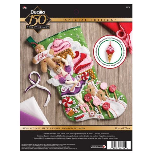 Bucilla ® Seasonal - Felt - Stocking Kits - Sugarland Fairy - 86714