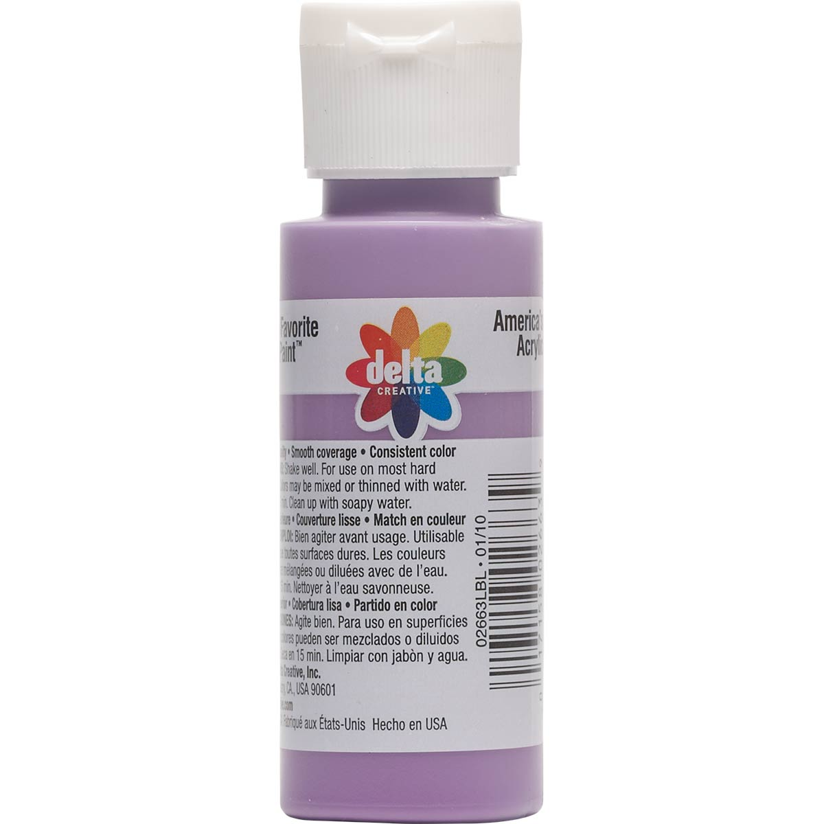 Delta Ceramcoat ® Acrylic Paint - Pansy, 2 oz.