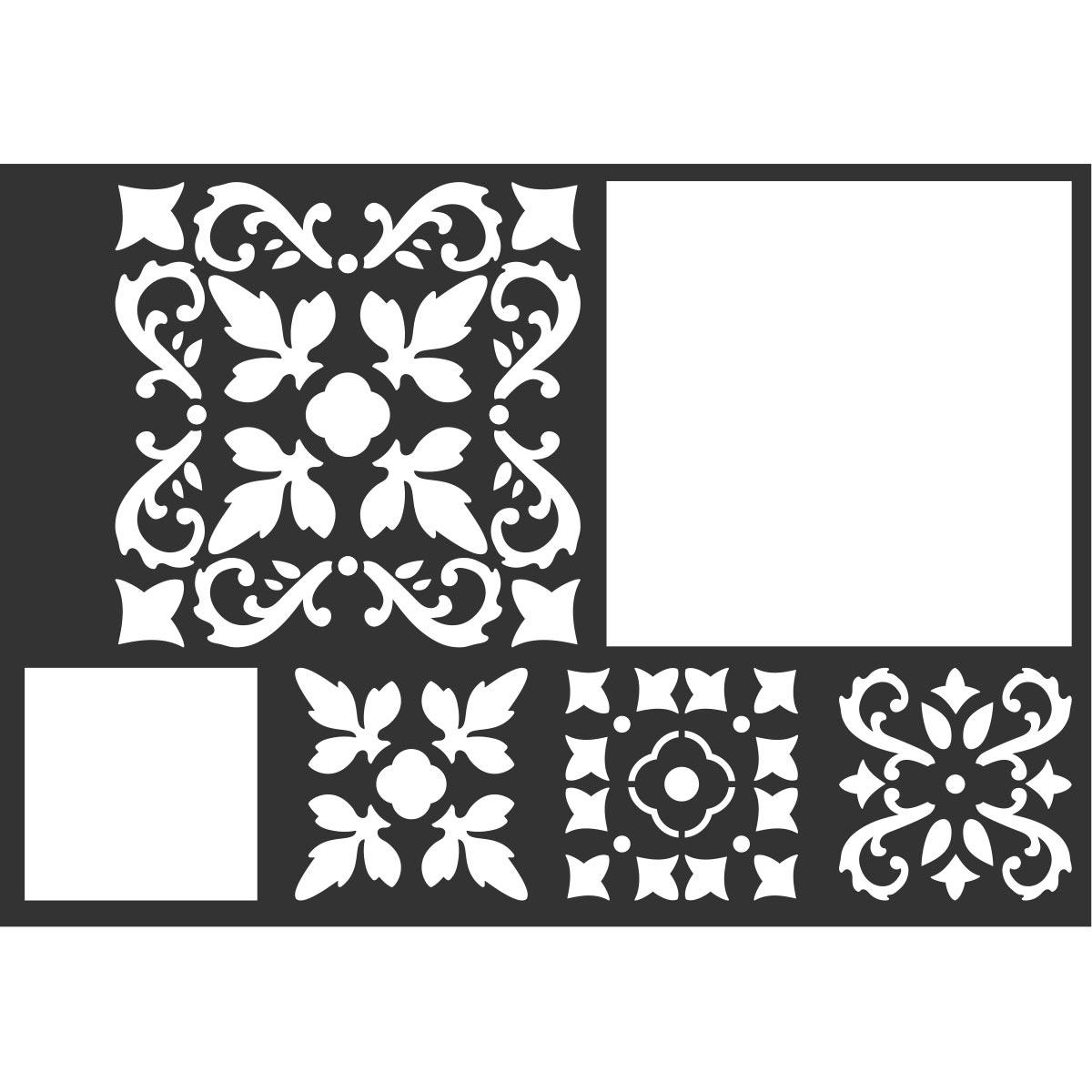 FolkArt ® Painting Stencils - Barcelona Tile - 25608