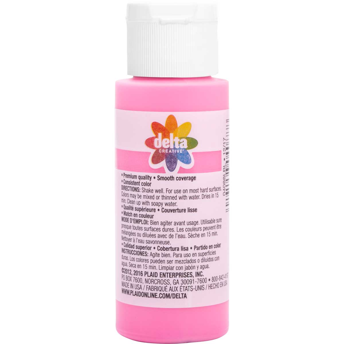 Delta Ceramcoat ® Acrylic Paint - Chic Pink, 2 oz.