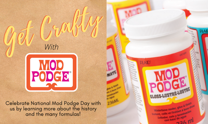 Get Crafty with Mod Podge - Part 5
