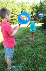 DIY Crafts for Kids - Balloon Paddle Game