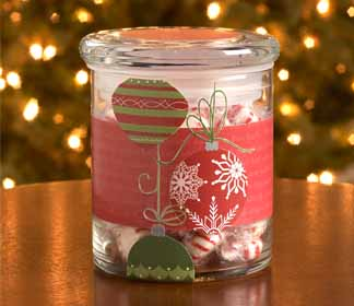 Holiday Ornament Gift Container