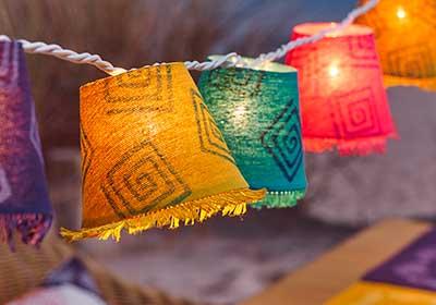 Handmade Lanterns for Garden Party