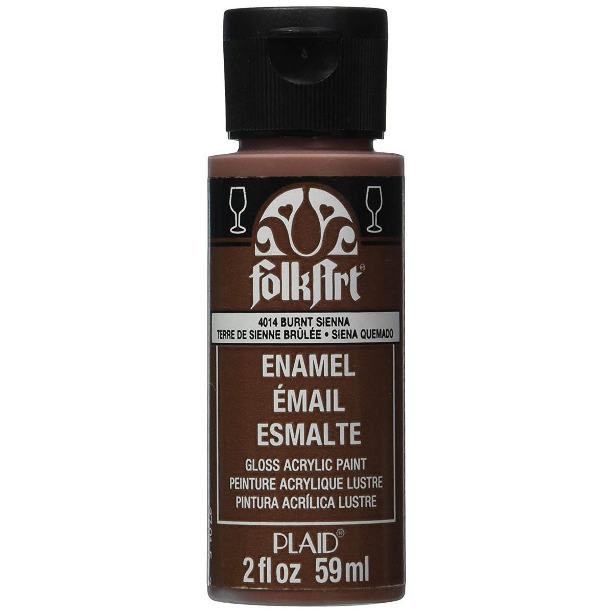 FolkArt ® Enamels™ - Burnt Sienna, 2 oz. - 4014