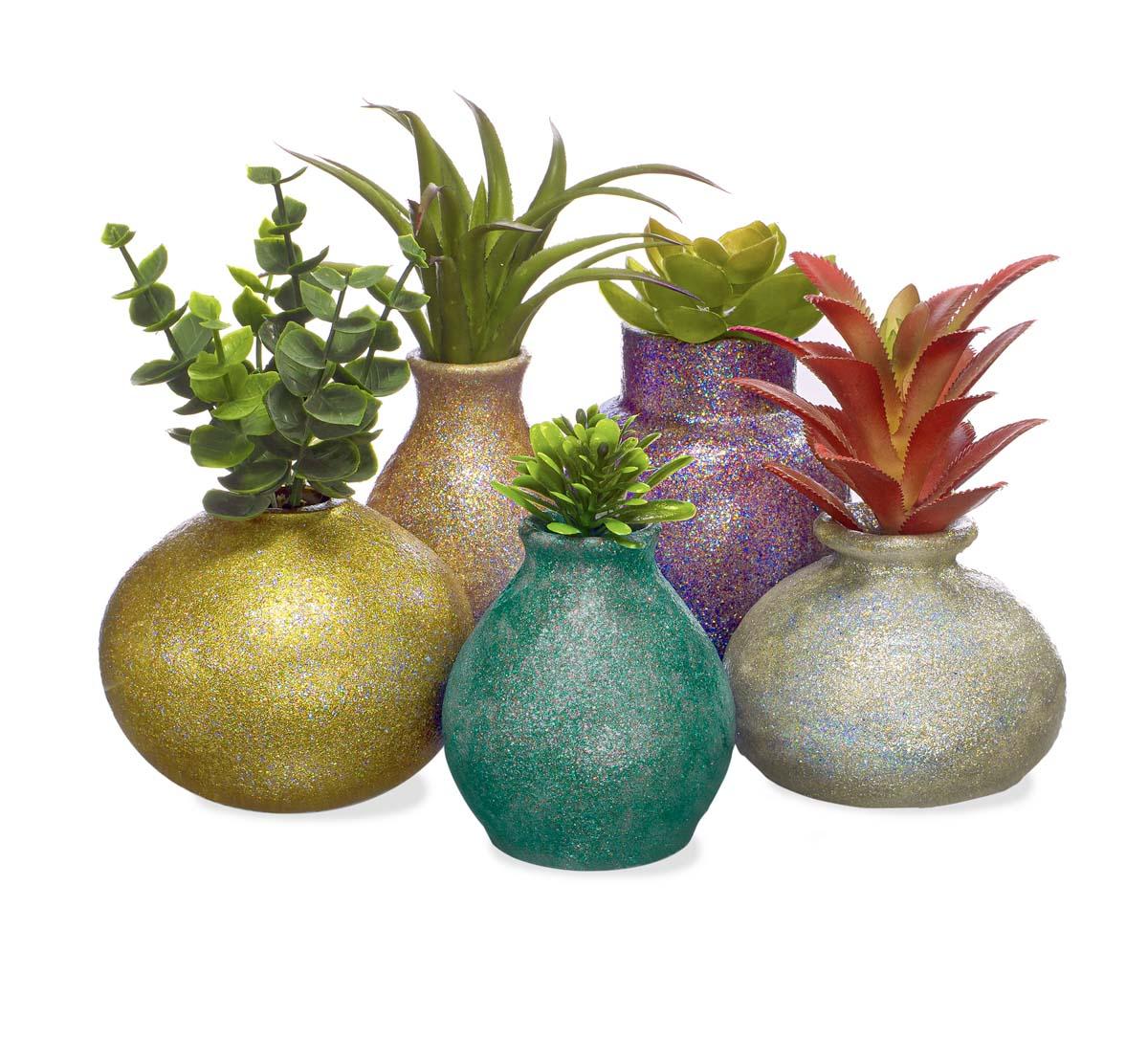 FolkArt ® Glitterific Fine™ Acrylic Paint Set - 5 pc - 44510