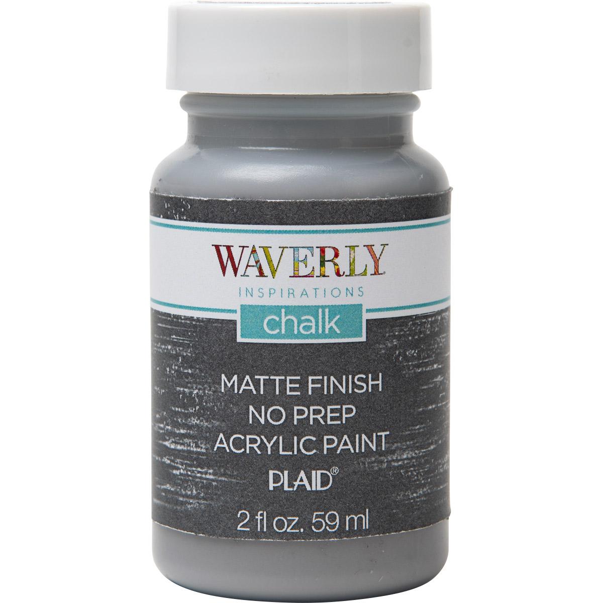 Waverly ® Inspirations Chalk Finish Acrylic Paint - Steel, 2 oz.