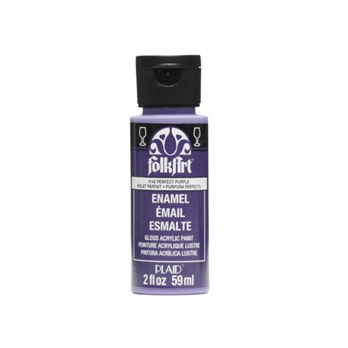 FolkArt ® Enamels™ - Perfect Purple, 2 oz.