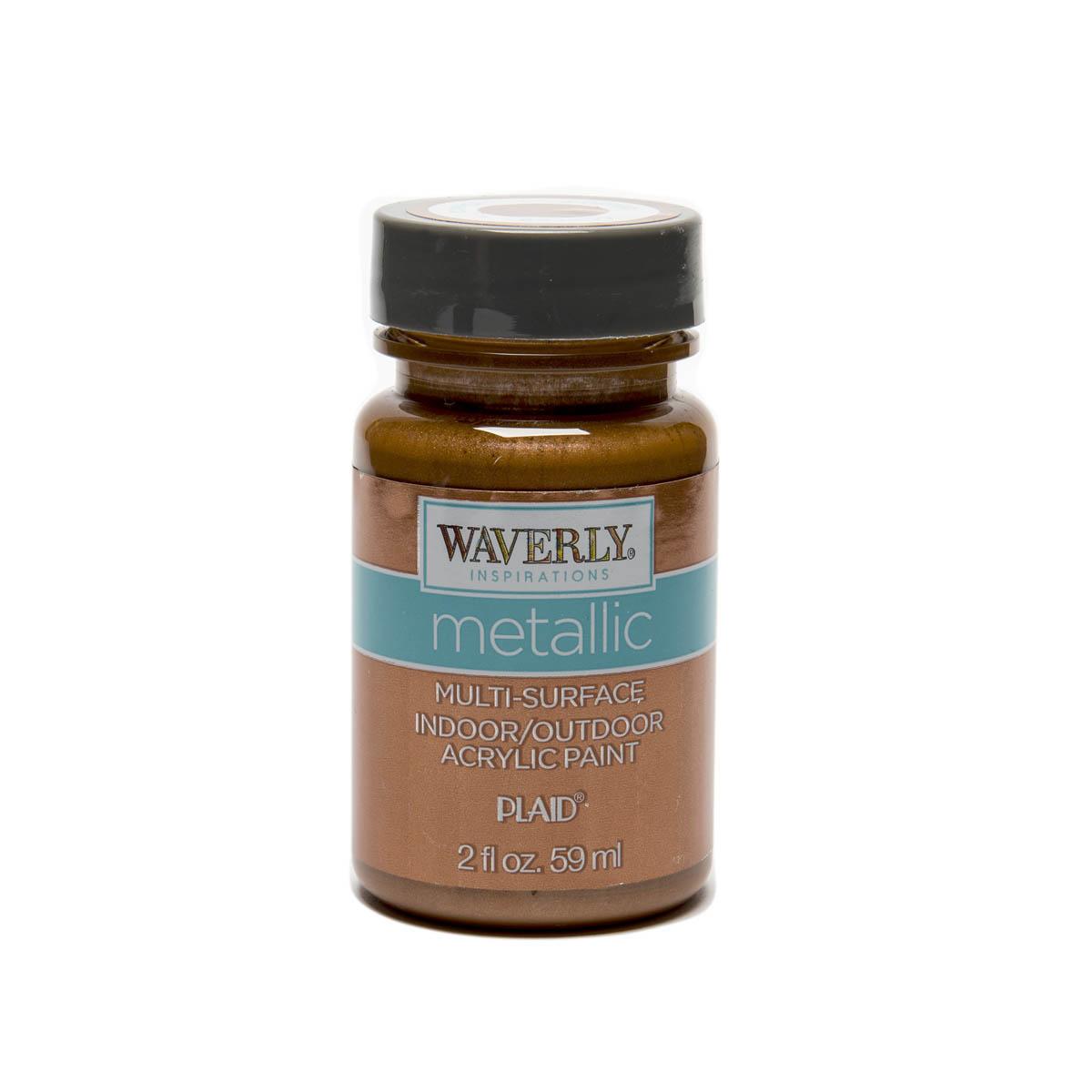 Waverly ® Inspirations Metallic Multi-Surface Acrylic Paint - Copper, 2 oz. - 60691E