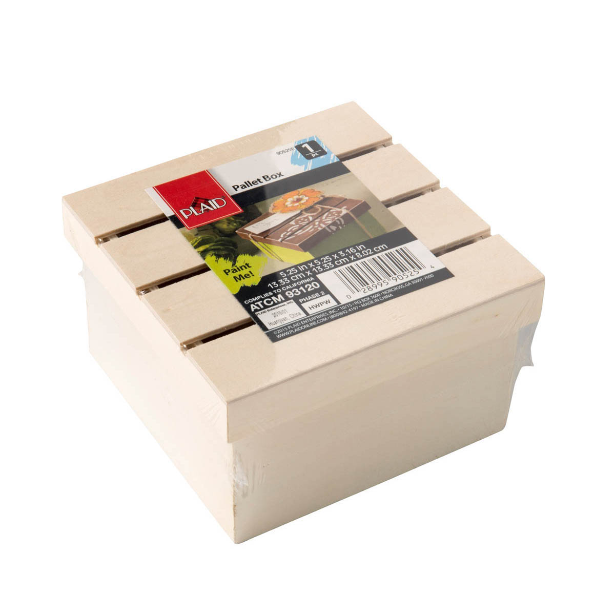 Plaid ® Wood Surfaces - Pallet Box - 90525E
