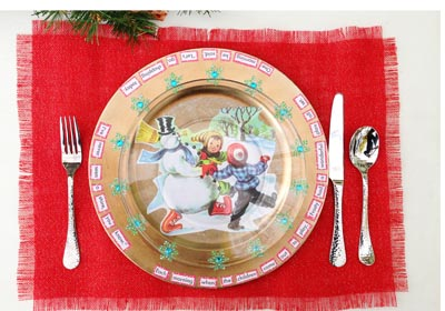 Christmas Story Place-Setting