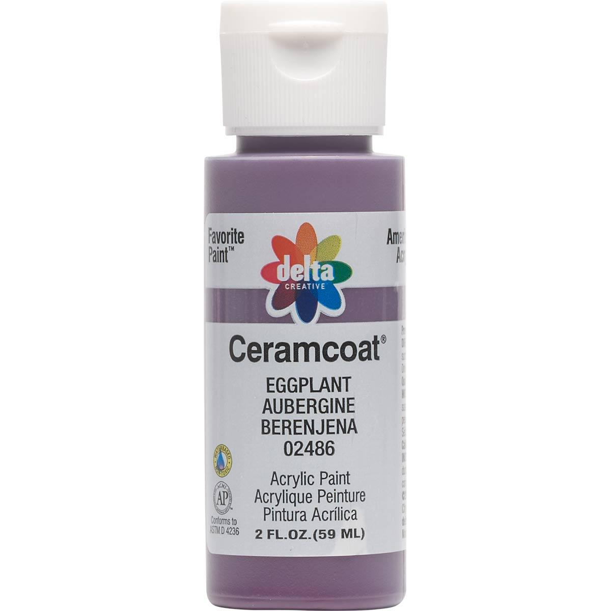Delta Ceramcoat ® Acrylic Paint - Eggplant, 2 oz.