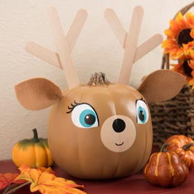 Deer Pumpkin