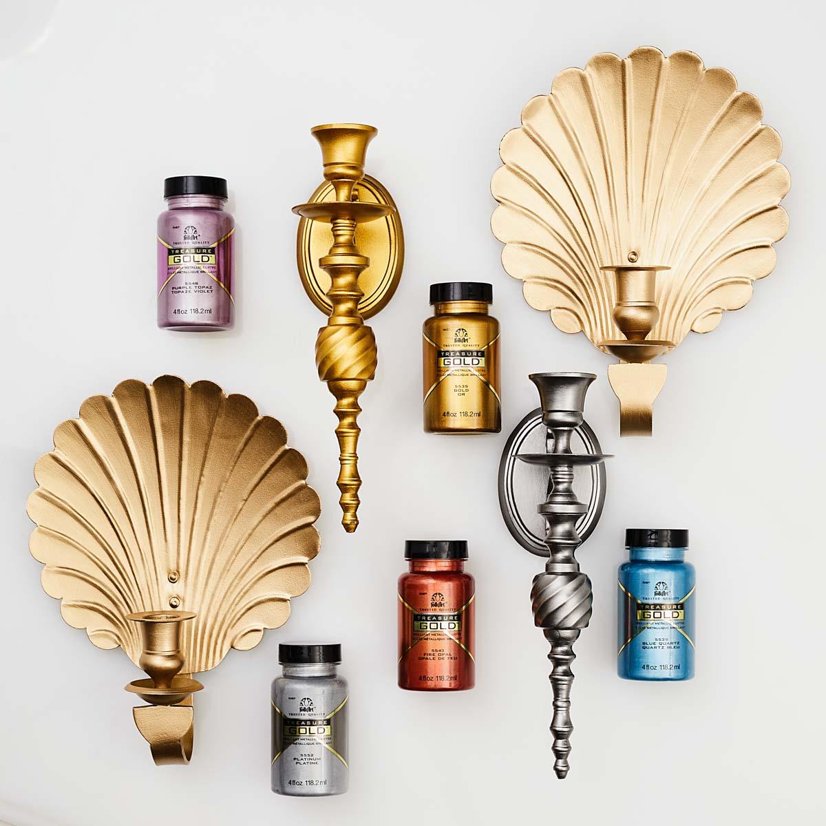 FolkArt ® Treasure Gold™- Light Amethyst, 2 oz. - 3111