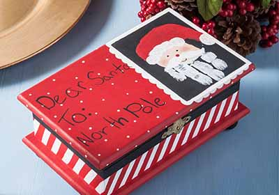 Santa List Box