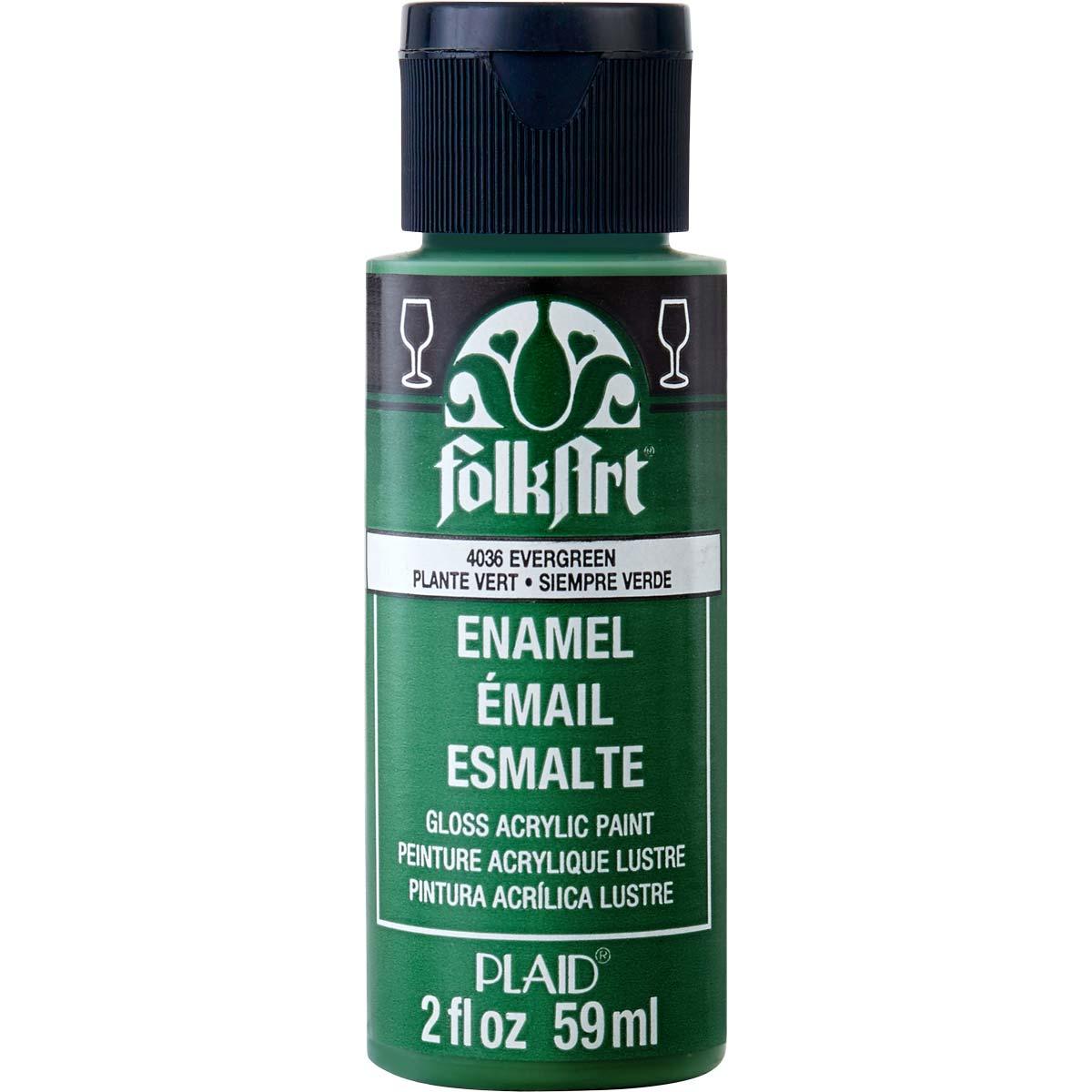FolkArt ® Enamels™ - Evergreen, 2 oz. - 4036