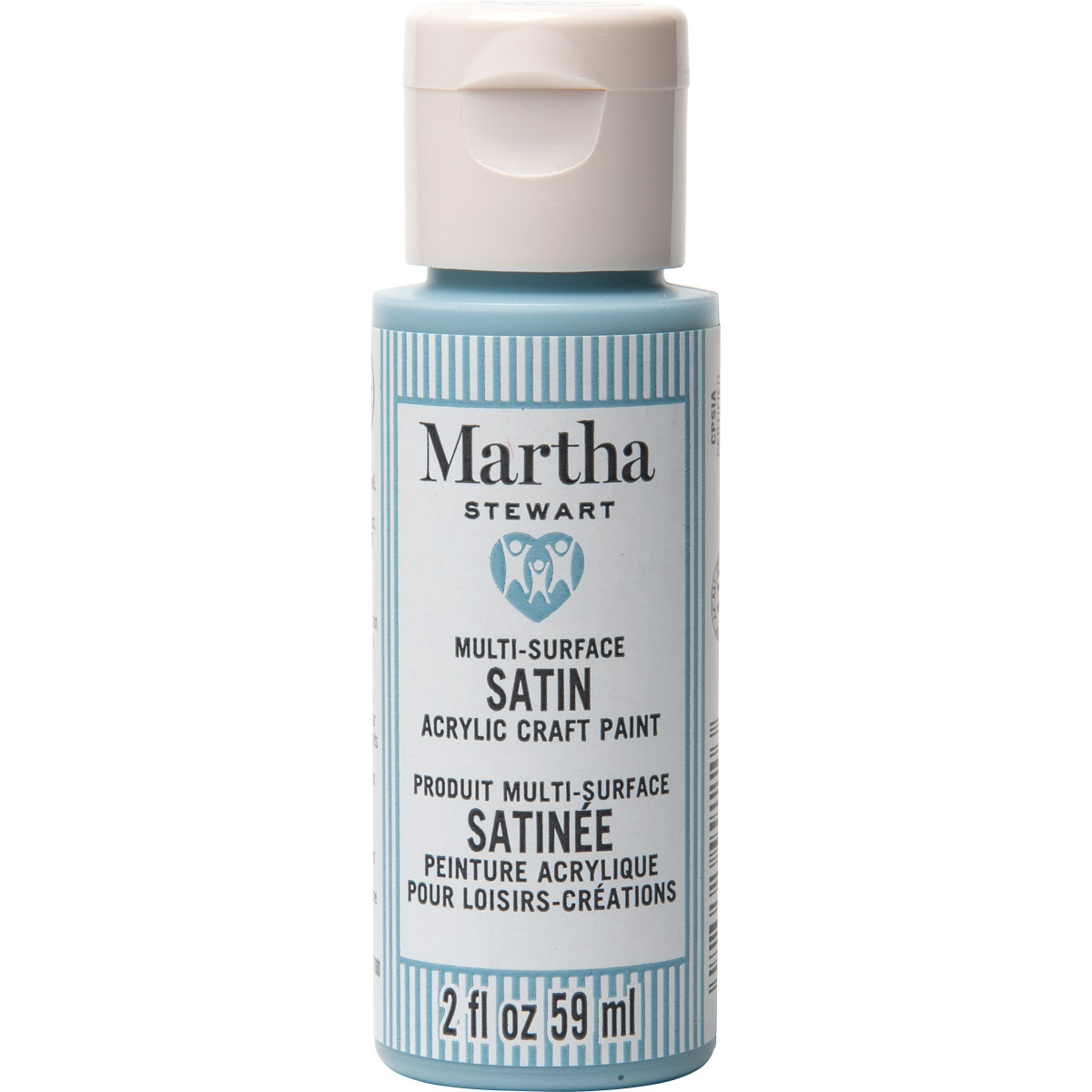 Martha Stewart® 2oz Multi-Surface Satin Acrylic Craft Paint - Morning Mist