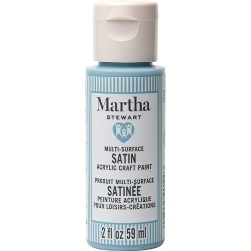 Martha Stewart ® Multi-Surface Satin Acrylic Craft Paint CPSIA - Morning Mist, 2 oz. - 99110