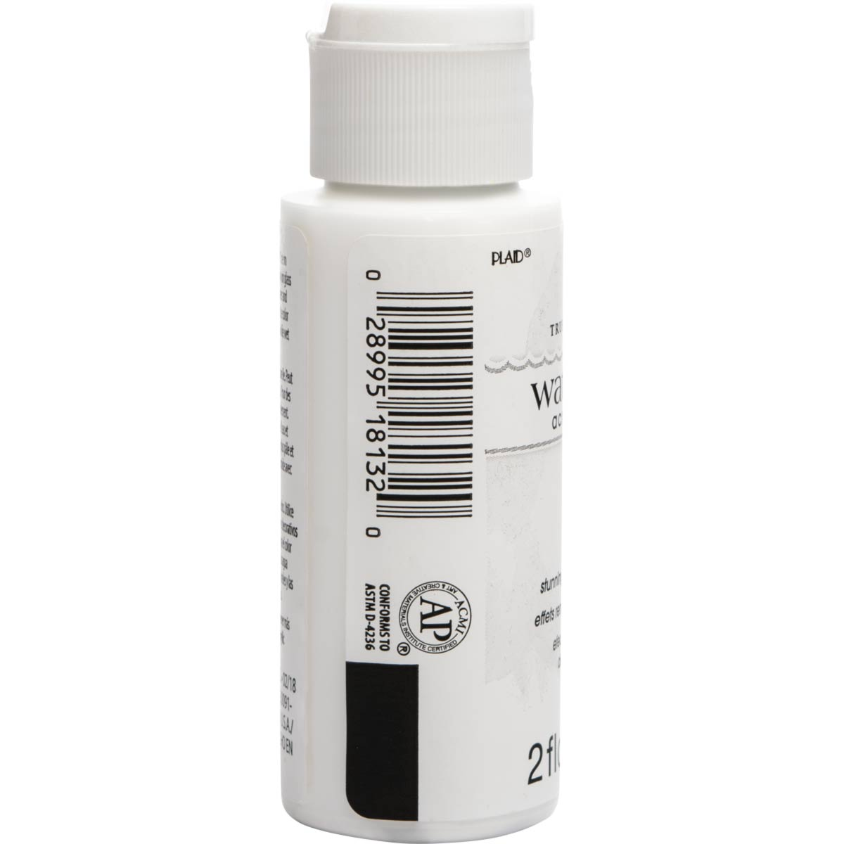 FolkArt ® Watercolor Acrylic Paint™ - White, 2 oz. - 18132