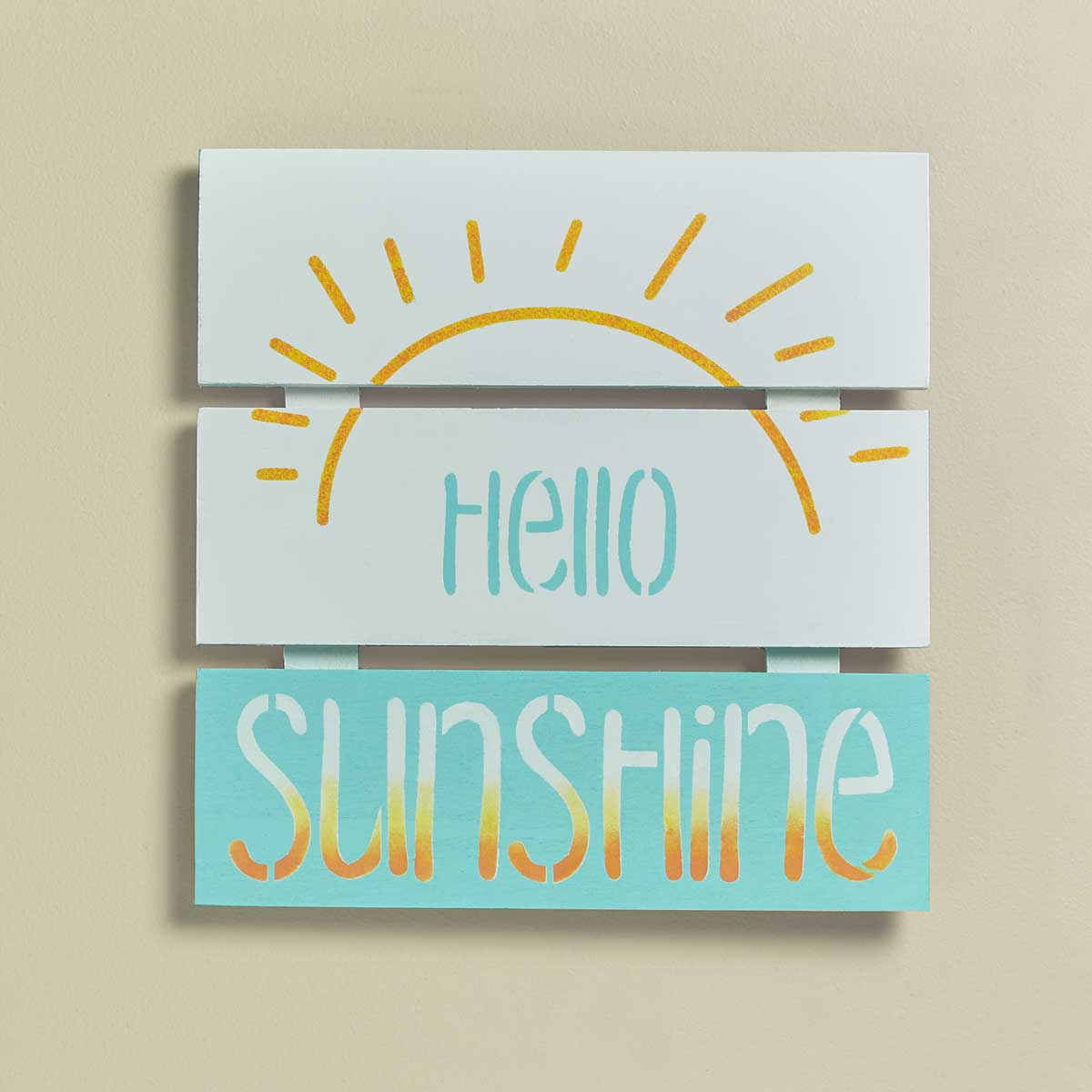 """Hello Sunshine"" Sign"