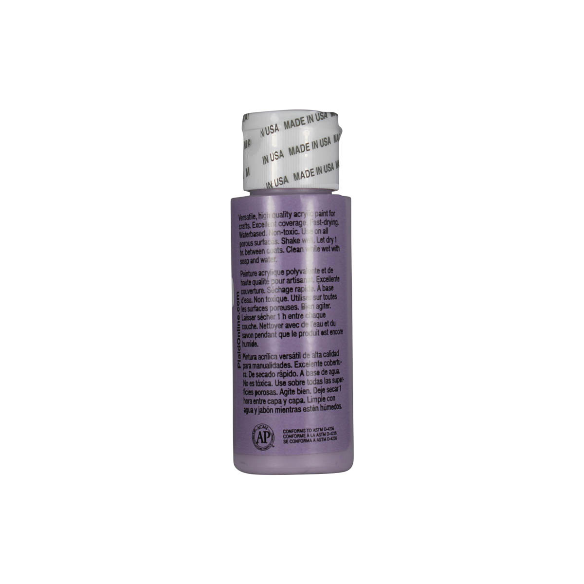 Apple Barrel ® Colors - Lilac Dust, 2 oz.