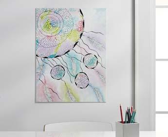 Dreamcatcher Painting Project