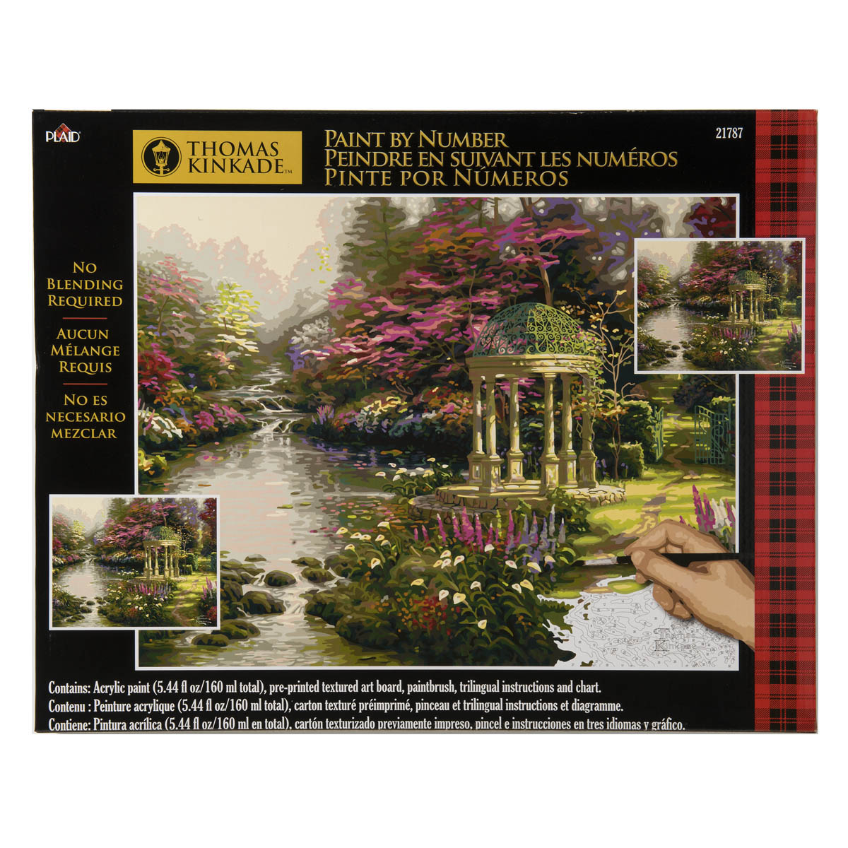 Plaid ® Paint by Number - Thomas Kinkade™ - The Garden of Prayer