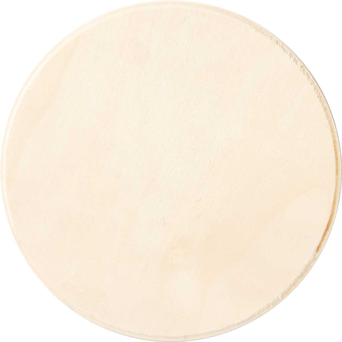 Plaid ® Wood Surfaces - Plaques - Circle