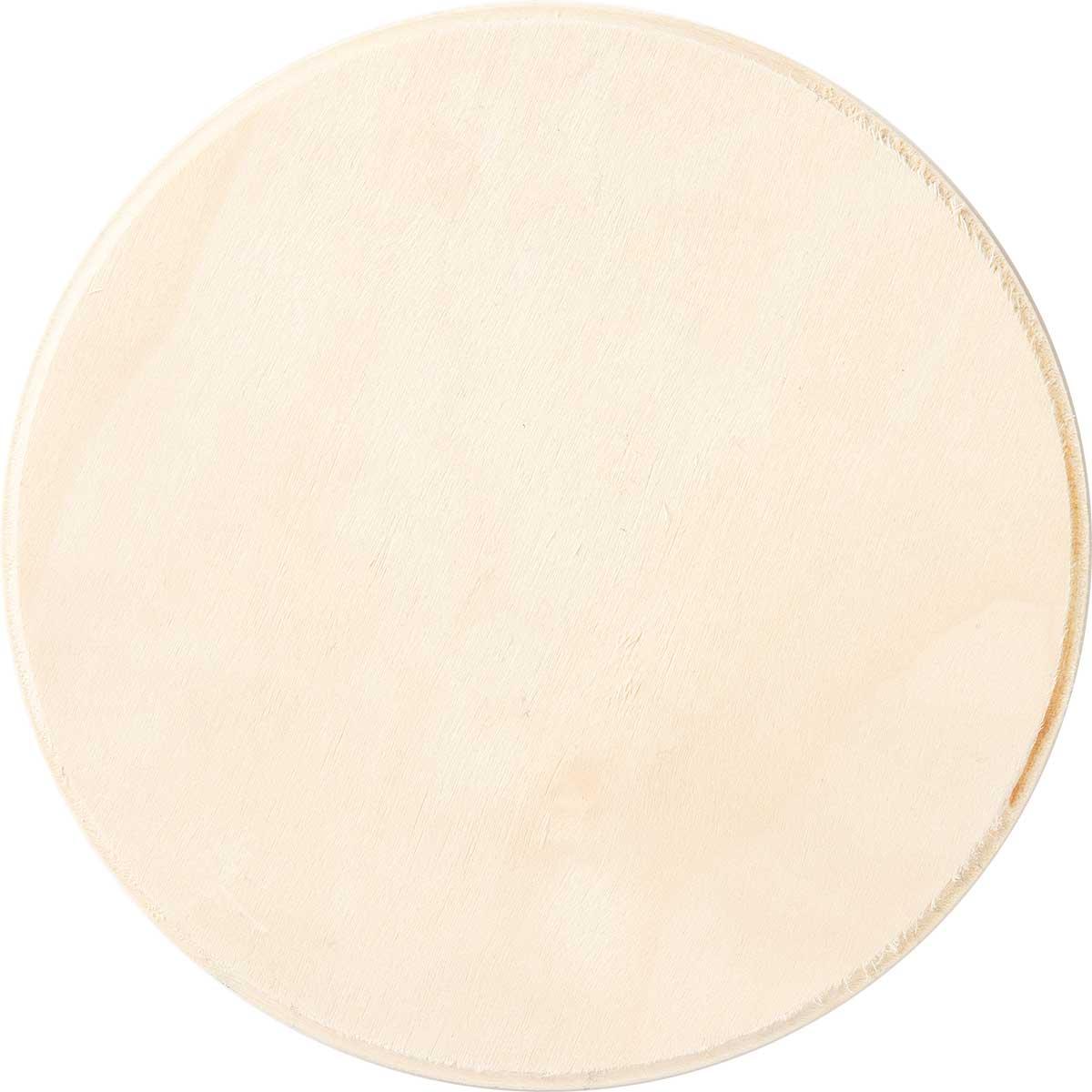 Plaid ® Wood Surfaces - Plaques - Circle