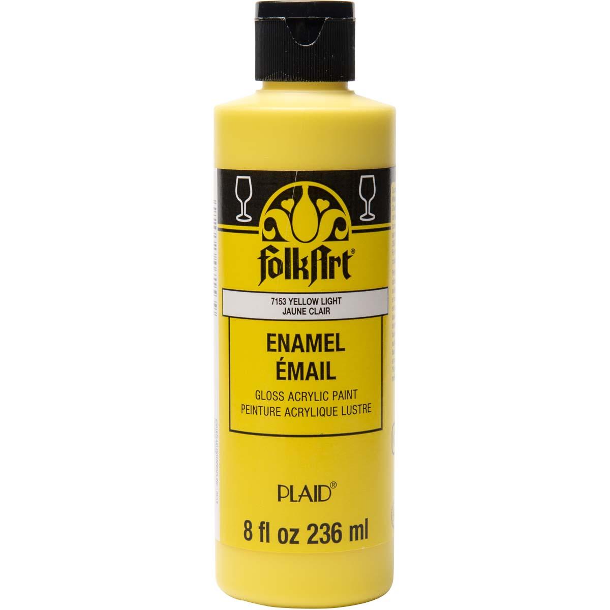 FolkArt ® Enamels™ - Yellow Light, 8 oz.