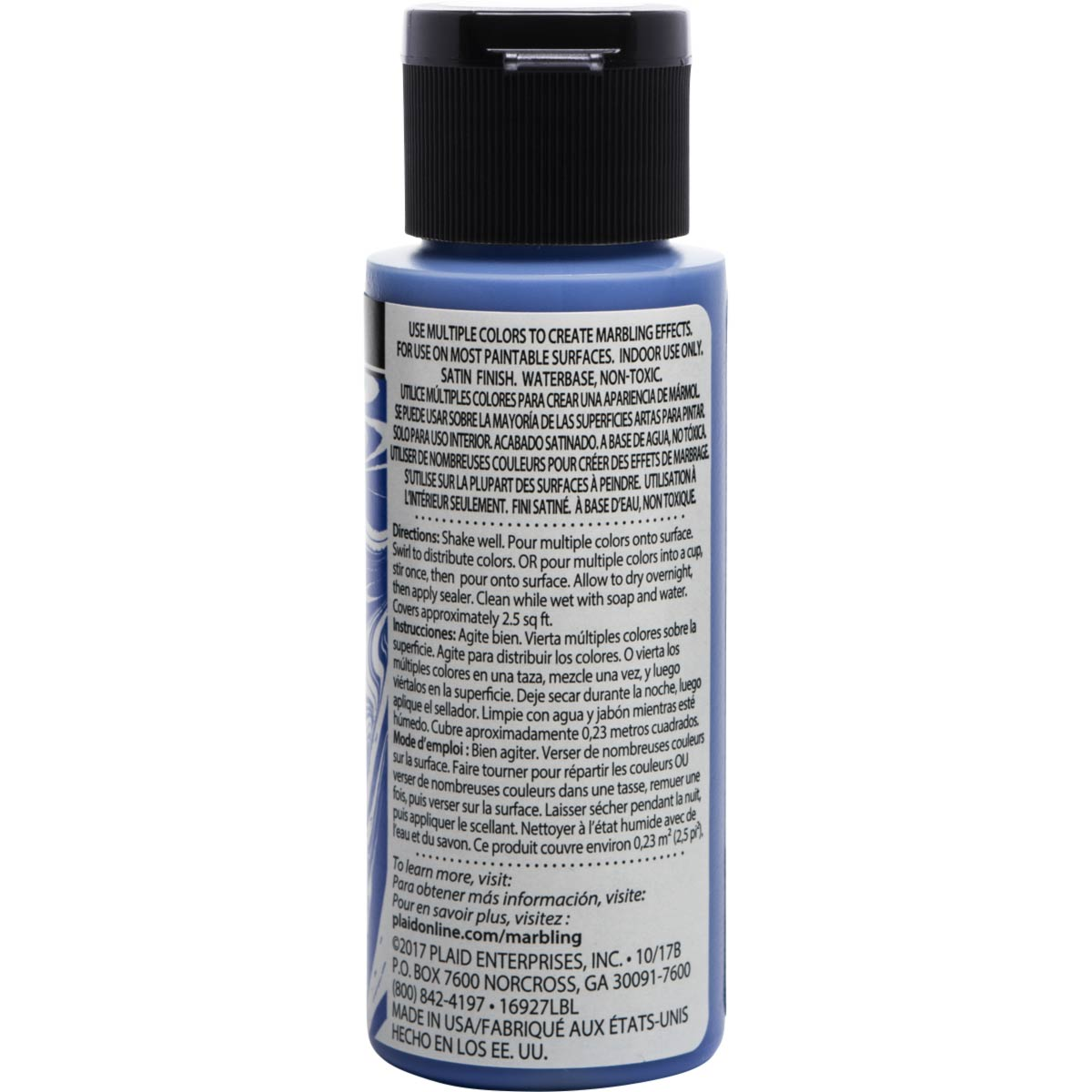 FolkArt ® Marbling Paint - Blue, 2 oz.