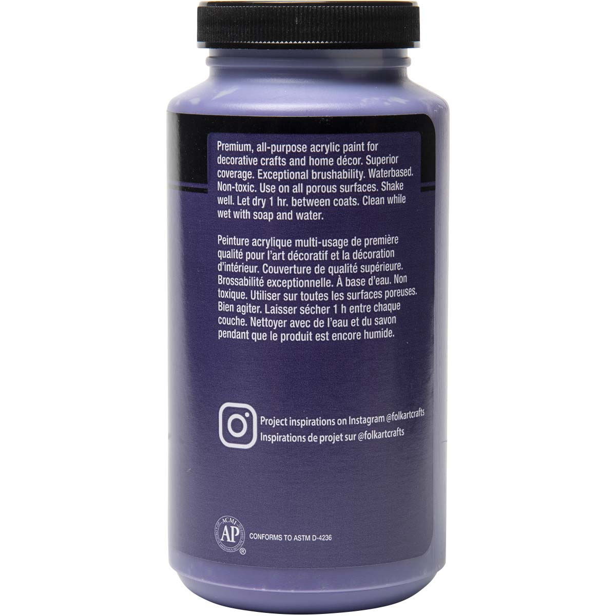 FolkArt ® Acrylic Colors - Purple, 16 oz. - 6369