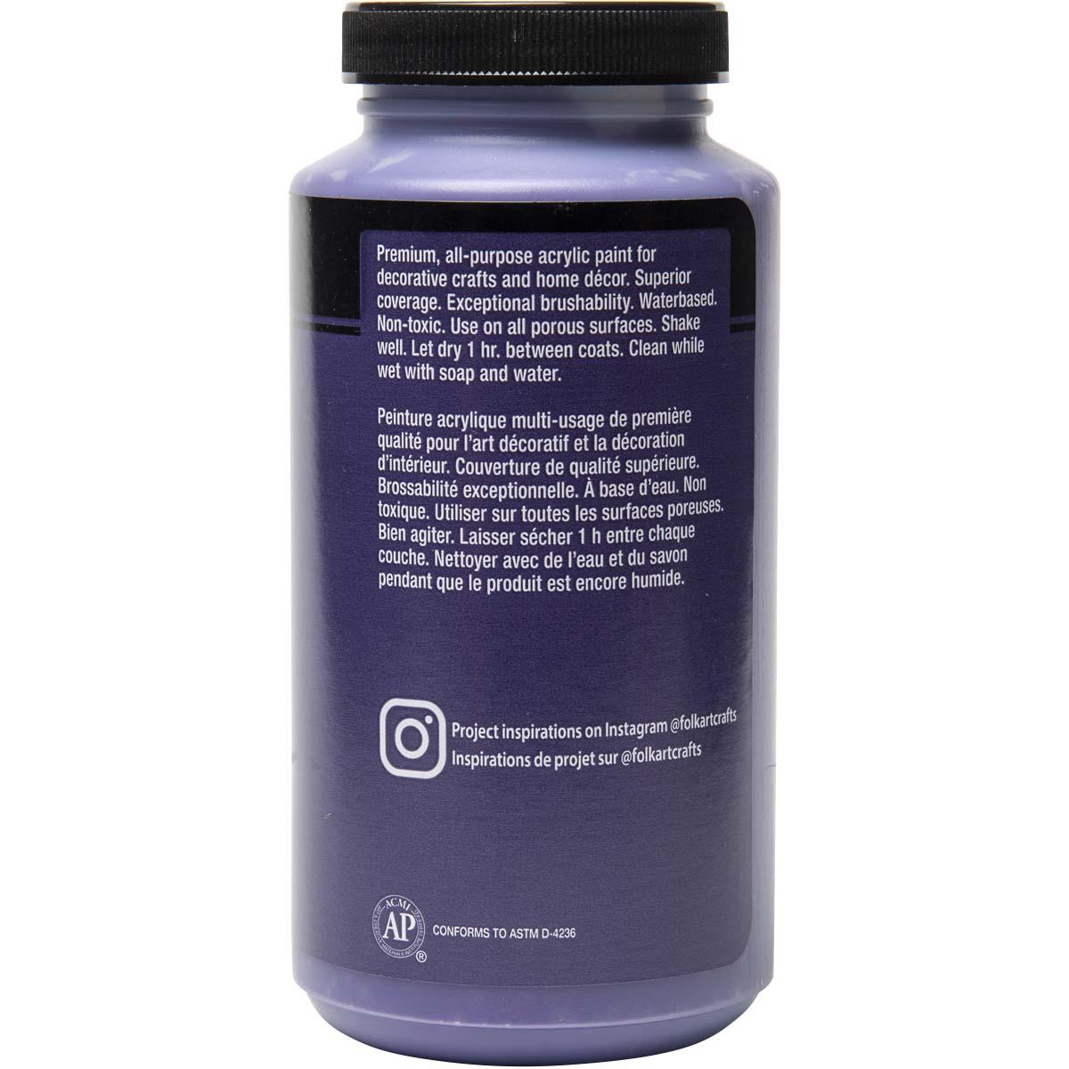 FolkArt ® Acrylic Colors - Purple, 16 oz.