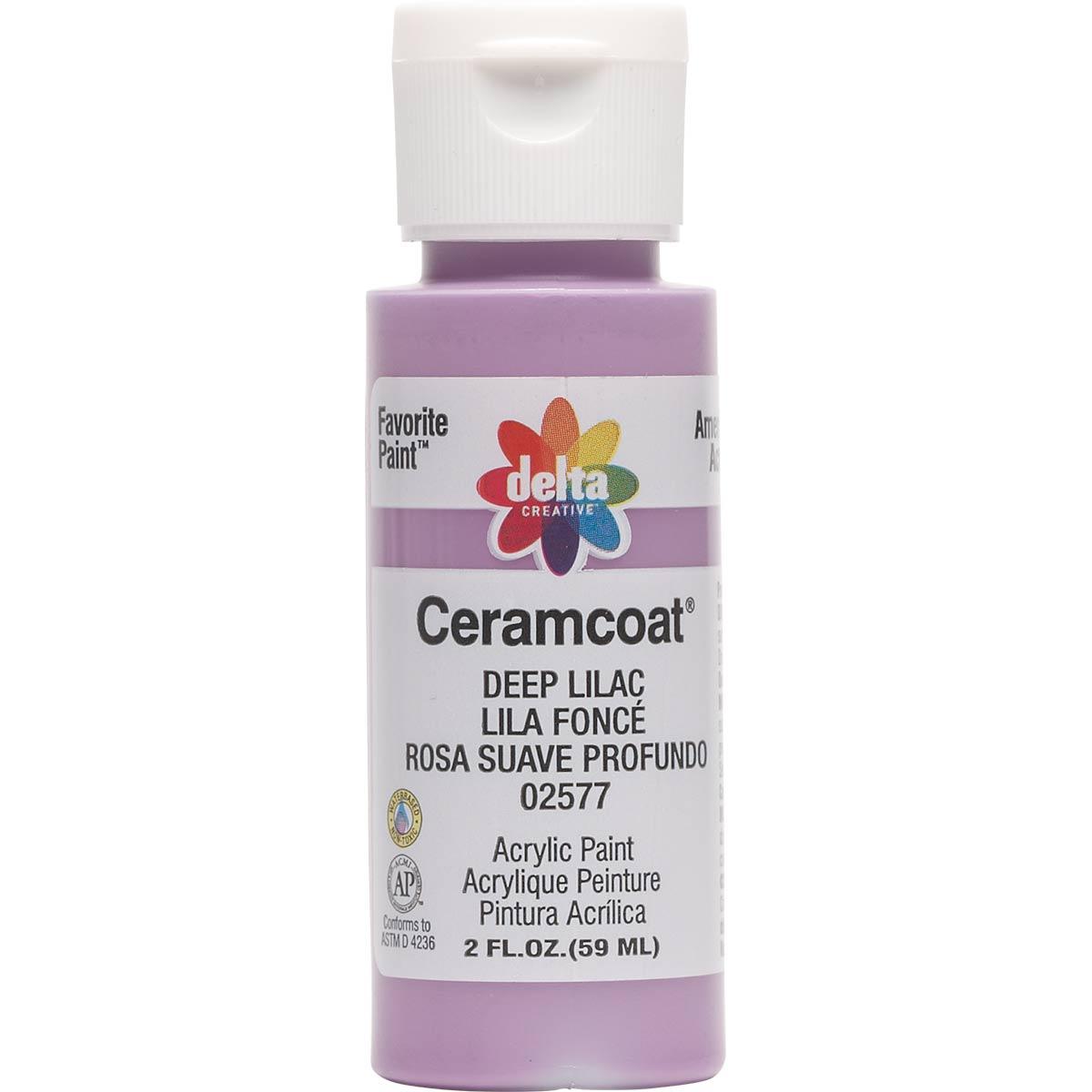 Delta Ceramcoat ® Acrylic Paint - Deep Lilac, 2 oz.