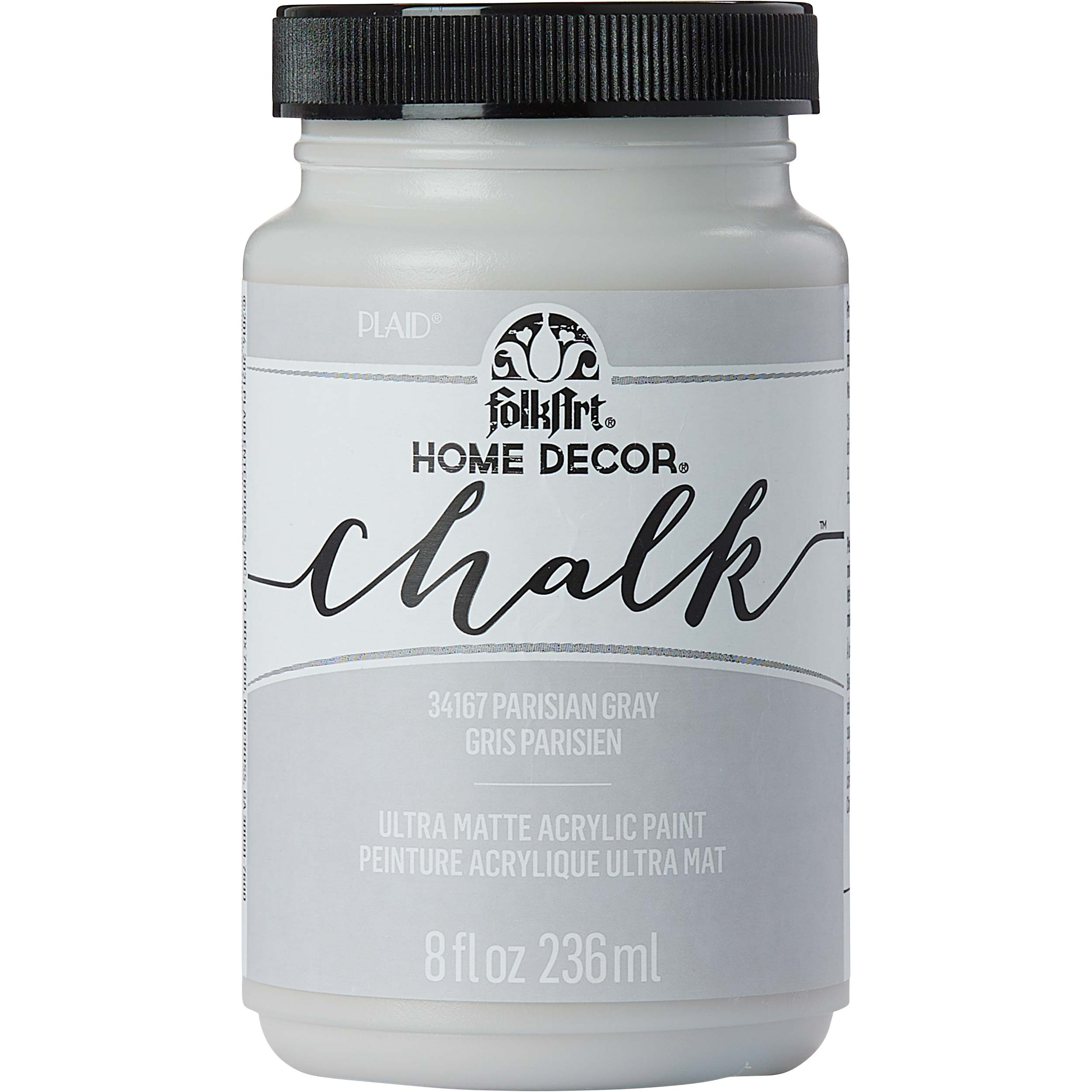 FolkArt ® Home Decor™ Chalk - Parisian Grey, 8 oz. - 34167