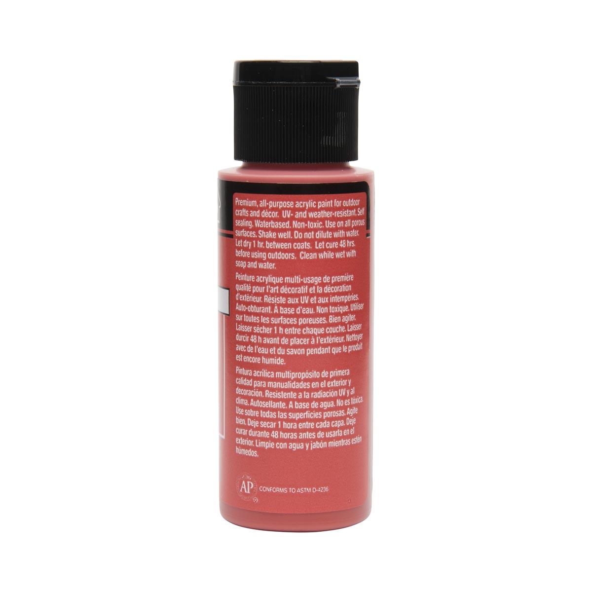 FolkArt ® Outdoor™ Acrylic Colors - Begonia, 2 oz. - 6486