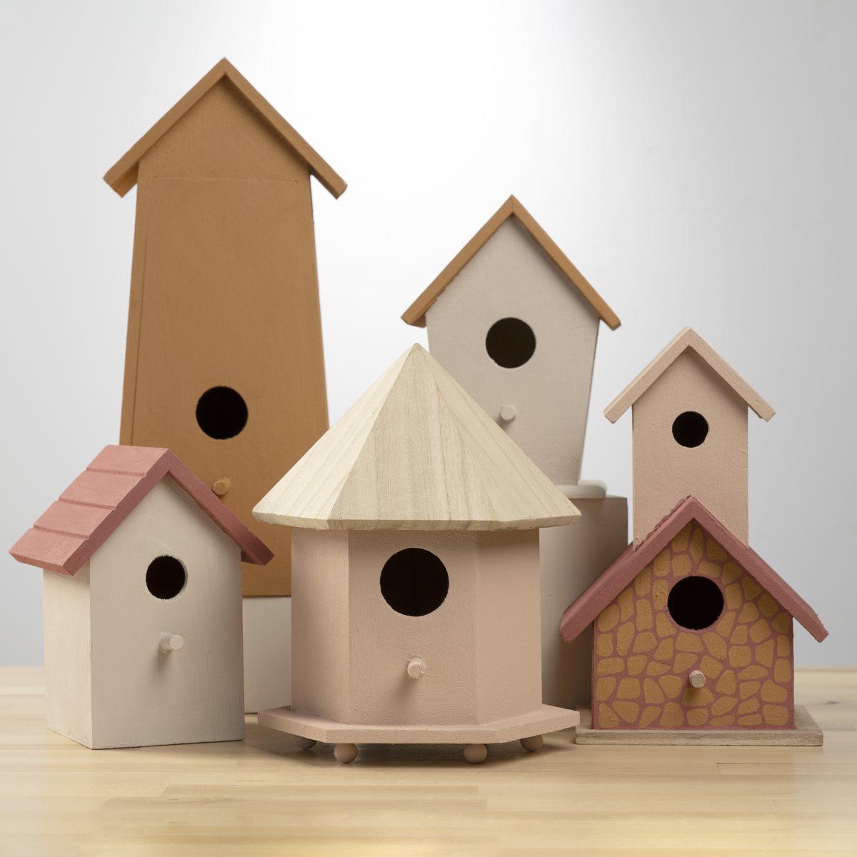 Terra Cotta Birdhouses
