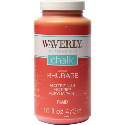 Waverly ® Inspirations Chalk Finish Acrylic Paint - Rhubarb, 16 oz. - 60748E