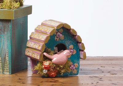 Beachy Birdhouse