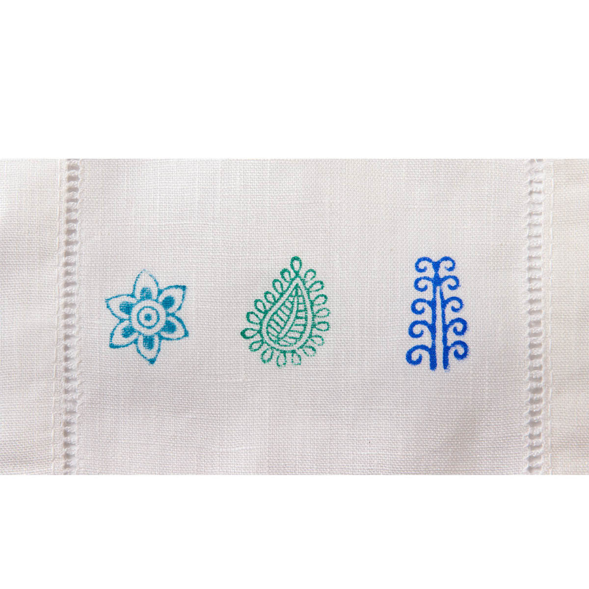 Fabric Creations™ Block Printing Stamps - Mini Set - Traditional Indian