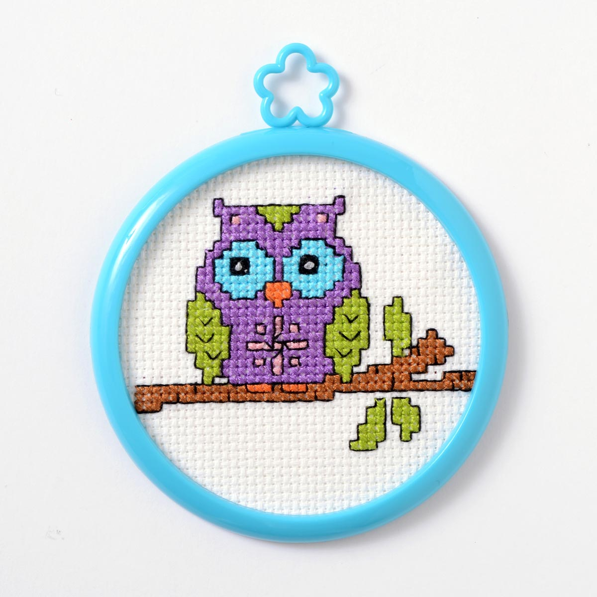Bucilla ® My 1st Stitch™ - Counted Cross Stitch Kits - Mini - Owl on a Branch