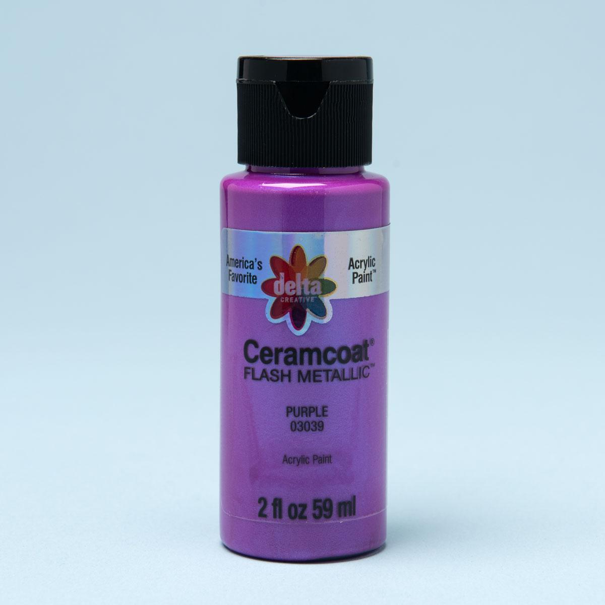 Delta Ceramcoat ® Paint Sets - Flash Metallics, 4 Colors - PROMOCMCFM