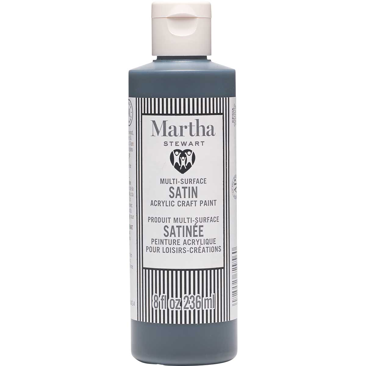 Martha Stewart® 8oz Multi-Surface Satin Acrylic Craft Paint - Black Belt