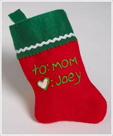 Stocking Gift Tag