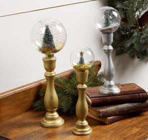 DIY Holiday Mantel Decorations