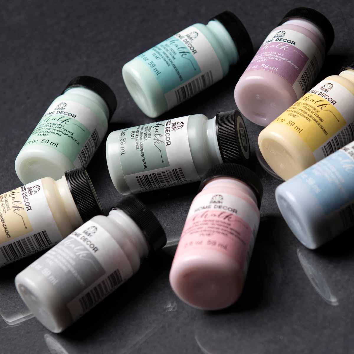 FolkArt ® Home Decor™ Chalk 9 Color Set 2 - PROMOFAHDC2