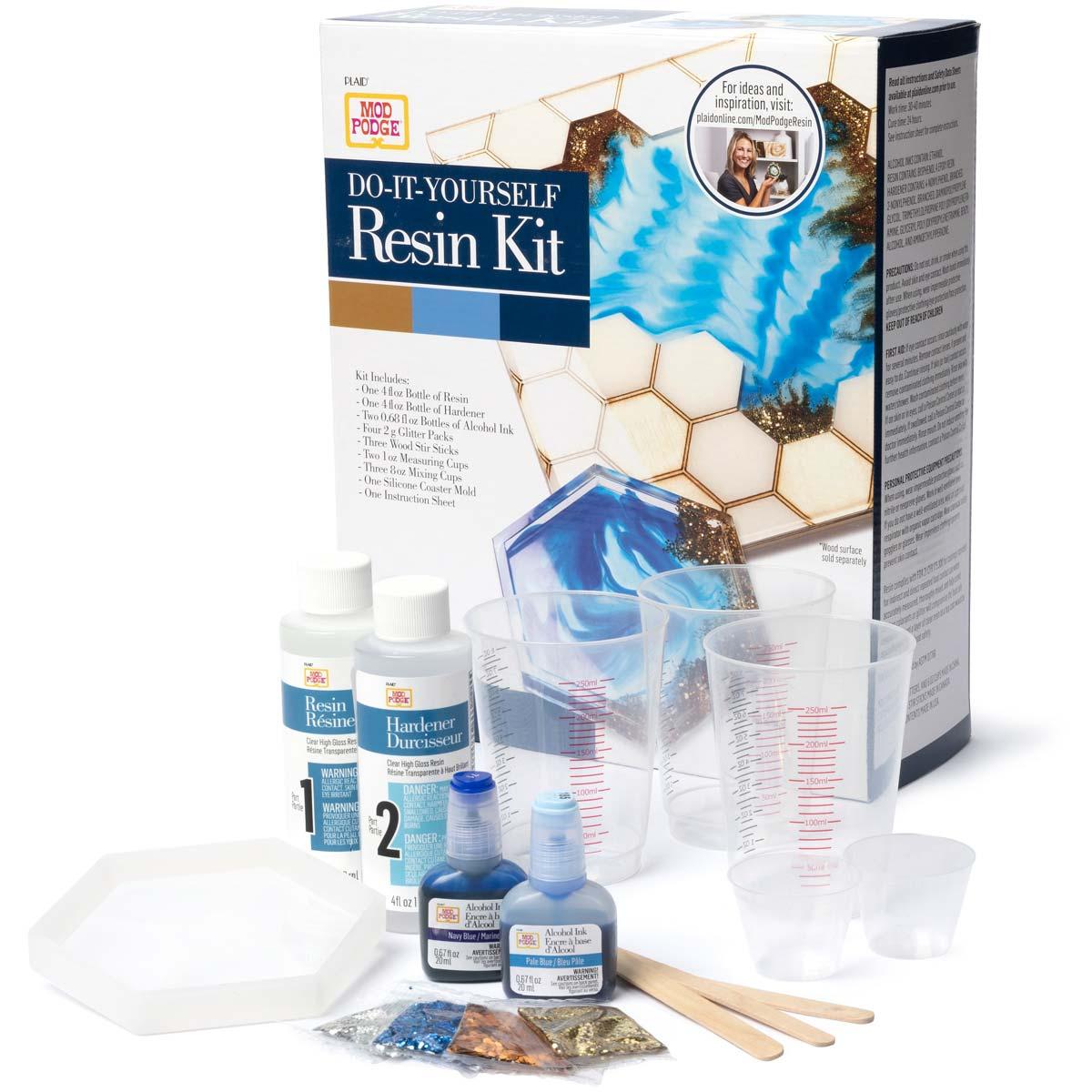 Mod Podge ® Do-It-Yourself Resin Kit - Honeycomb - 25340E