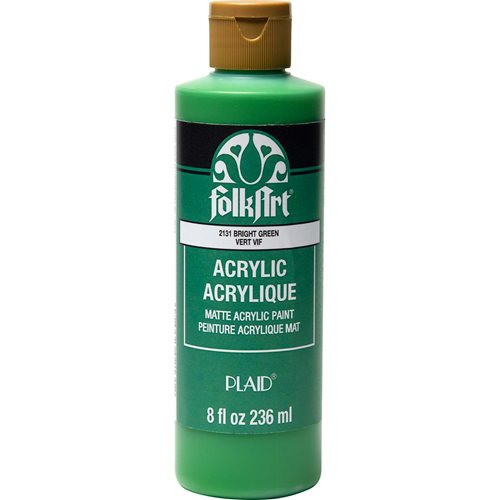 FolkArt ® Acrylic Colors - Bright Green, 8 oz. - 2131