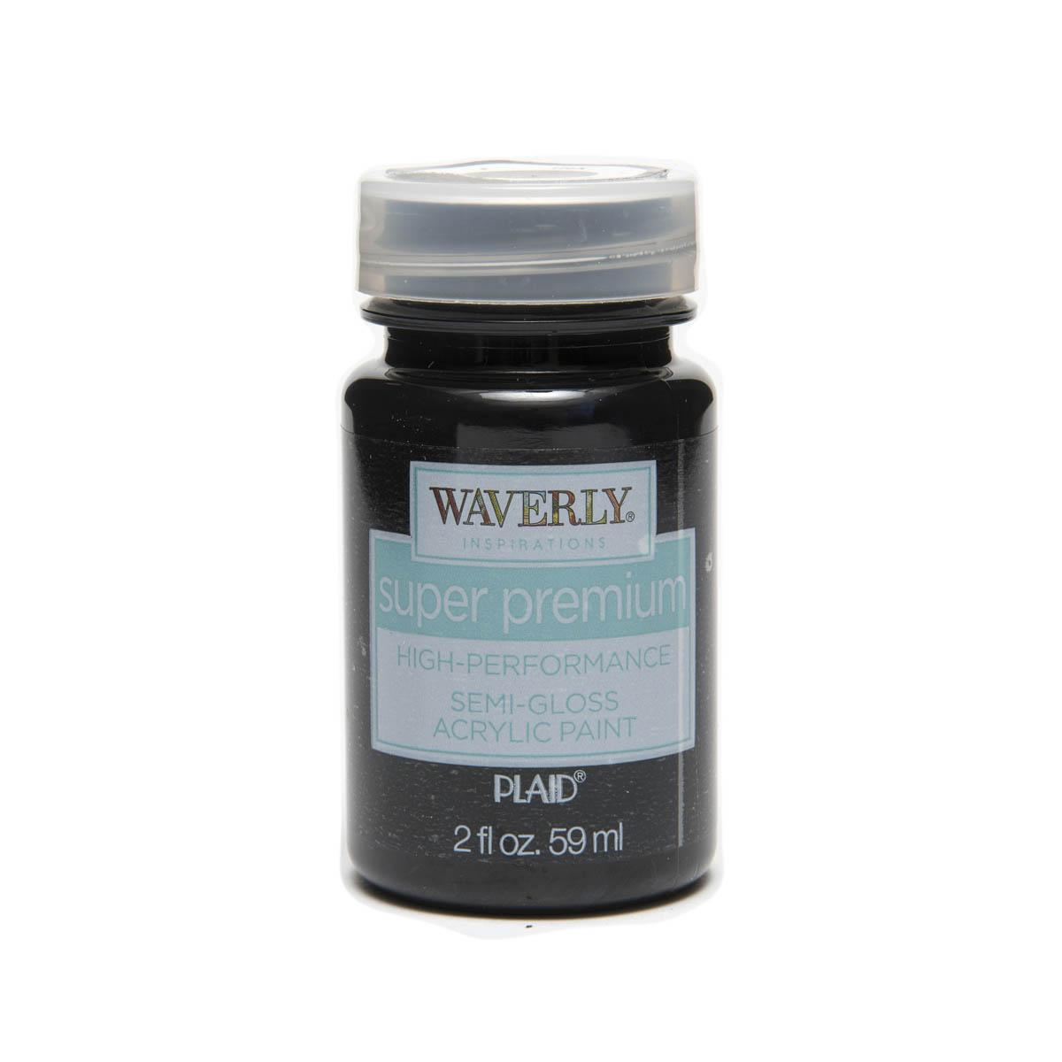 Waverly ® Inspirations Super Premium Semi-Gloss Acrylic Paint - Ink, 2 oz. - 60659E