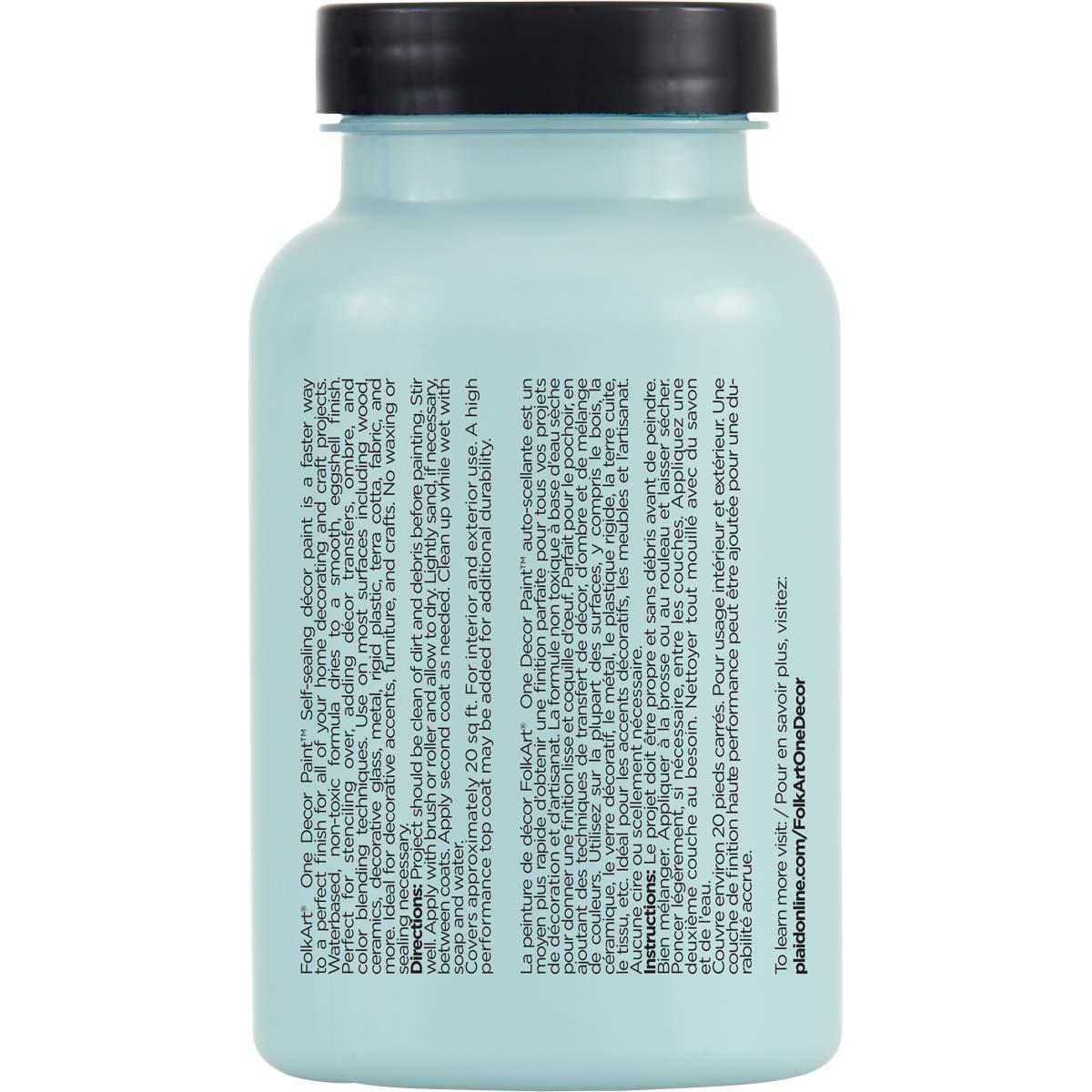 FolkArt ® One Décor Paint™ - Iced Turquoise, 8 oz. - 36067